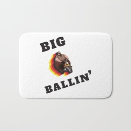 Big Ballin' Bath Mat