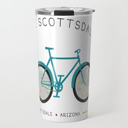 Scottsdale, Arizona by I Bike Travel Mug
