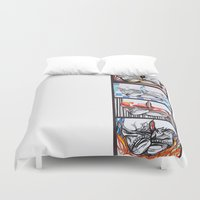 converse Duvet Covers featuring Converse by Creo
