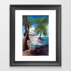 Relaxation Framed Art Print