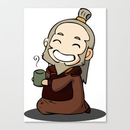 Uncle Iroh Canvas Print