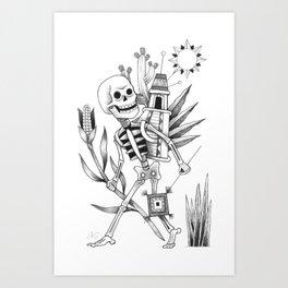 Camino a Casa Art Print