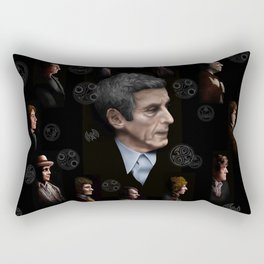 All Doctor regeneration Rectangular Pillow