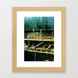worship. Framed Art Print