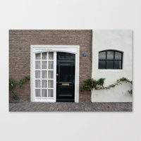 door Canvas Prints featuring Door by Marieken