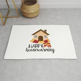 Happy Housewarming Rug