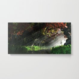 The Turning Metal Print