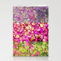 psychadelic Stationery Cards featuring Psychadelic Succulents by Hithere22