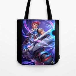 zarya over Tote Bag
