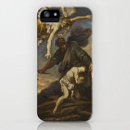 Alessandro Magnasco, called il Lissandrino GENOA 1667 - 1749 THE SACRIFICE OF ISAAC iPhone Case