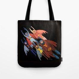 Flying! Tote Bag