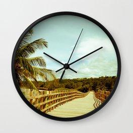 Paseo Tablado Jobos Isabela Wall Clock