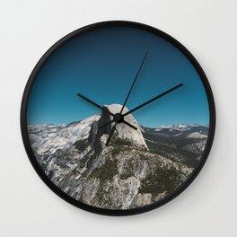Glacier Point, Yosemite National Park V Wall Clock