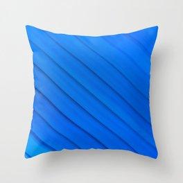 Blue glas solarium pattern Throw Pillow