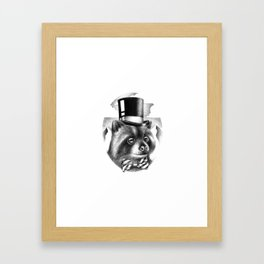 PROPERLY DRESSED FOR A SPECIAL OCCASION Framed Art Print