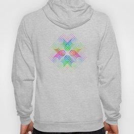 Colorful Rainbow Pattern Hoody