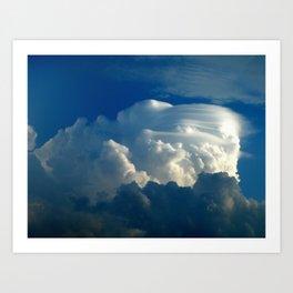 Lenticular Cloud Art Print
