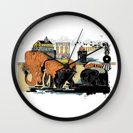Oiliphants Wall Clock