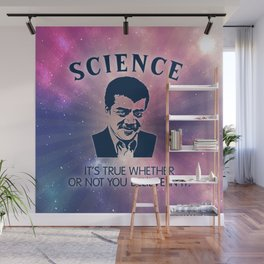 Science with Neil DeGrasse Tyson Wall Mural