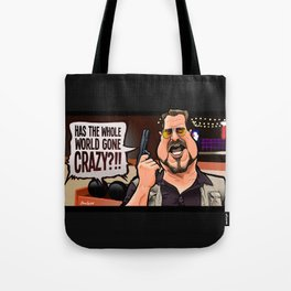 Over the Line! Tote Bag