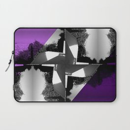 Fractal Wind Vane Skyline Laptop Sleeve
