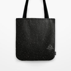 Trail Status / Technical Black Tote Bag