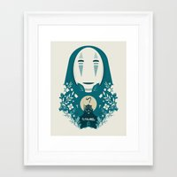 spirited away Framed Art Prints featuring Spirited by Duke Dastardly