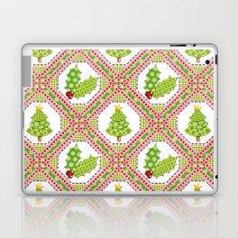 Polka Dot Christmas Laptop & iPad Skin