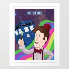 Doctor Who Returns Art Print