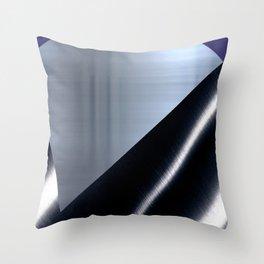 Sectors of Grey Throw Pillow