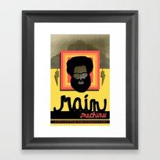Rain Machine Poster Framed Art Print