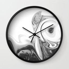 BLACK VOID Wall Clock