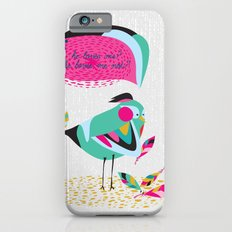 he loves me / he loves me not? iPhone 6s Slim Case