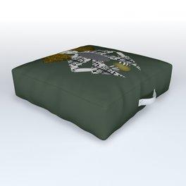 Yellow Outdoor Floor Cushion