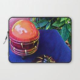 An Orange Appears Laptop Sleeve