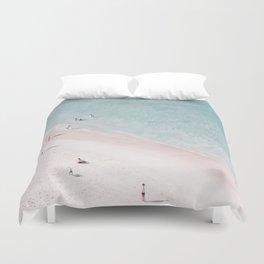 beach family love Duvet Cover