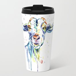The Happy Goat Travel Mug