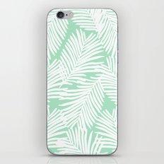 Areca Palm minimal tropical house plants minimalism art print zen chill decor iPhone & iPod Skin