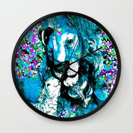 Lion #1 Wall Clock