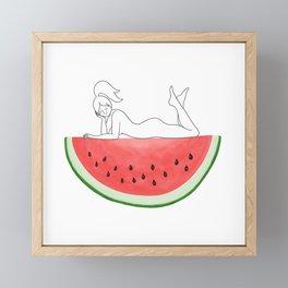 Watermelon Sugar High Framed Mini Art Print