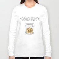 cookies Long Sleeve T-shirts featuring Cookies by Firielle