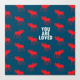 You Are Loved II Canvas Print