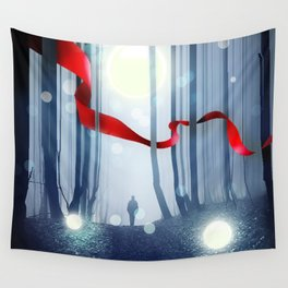 Forest Ribbon Wall Tapestry