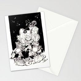 Catlady Dreams Stationery Cards