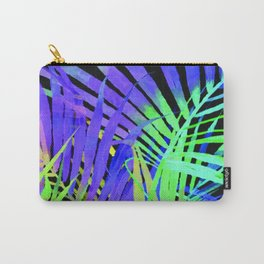 Pop Art Neon Leaf Pattern No. 2 Carry-All Pouch