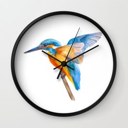 Original Kingfisher Wall Clock