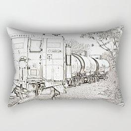 On Down The Line Rectangular Pillow