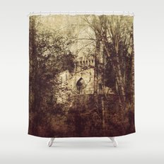 Past 2 Shower Curtain