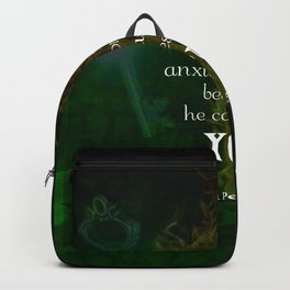 1 Peter 5:7 Uplifting Bible Verses Quote Backpack