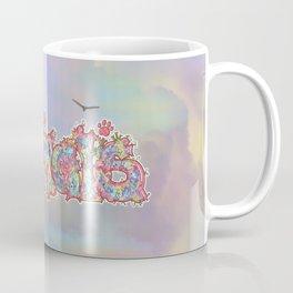 Kaleidoscopic Animals (Text) Coffee Mug
